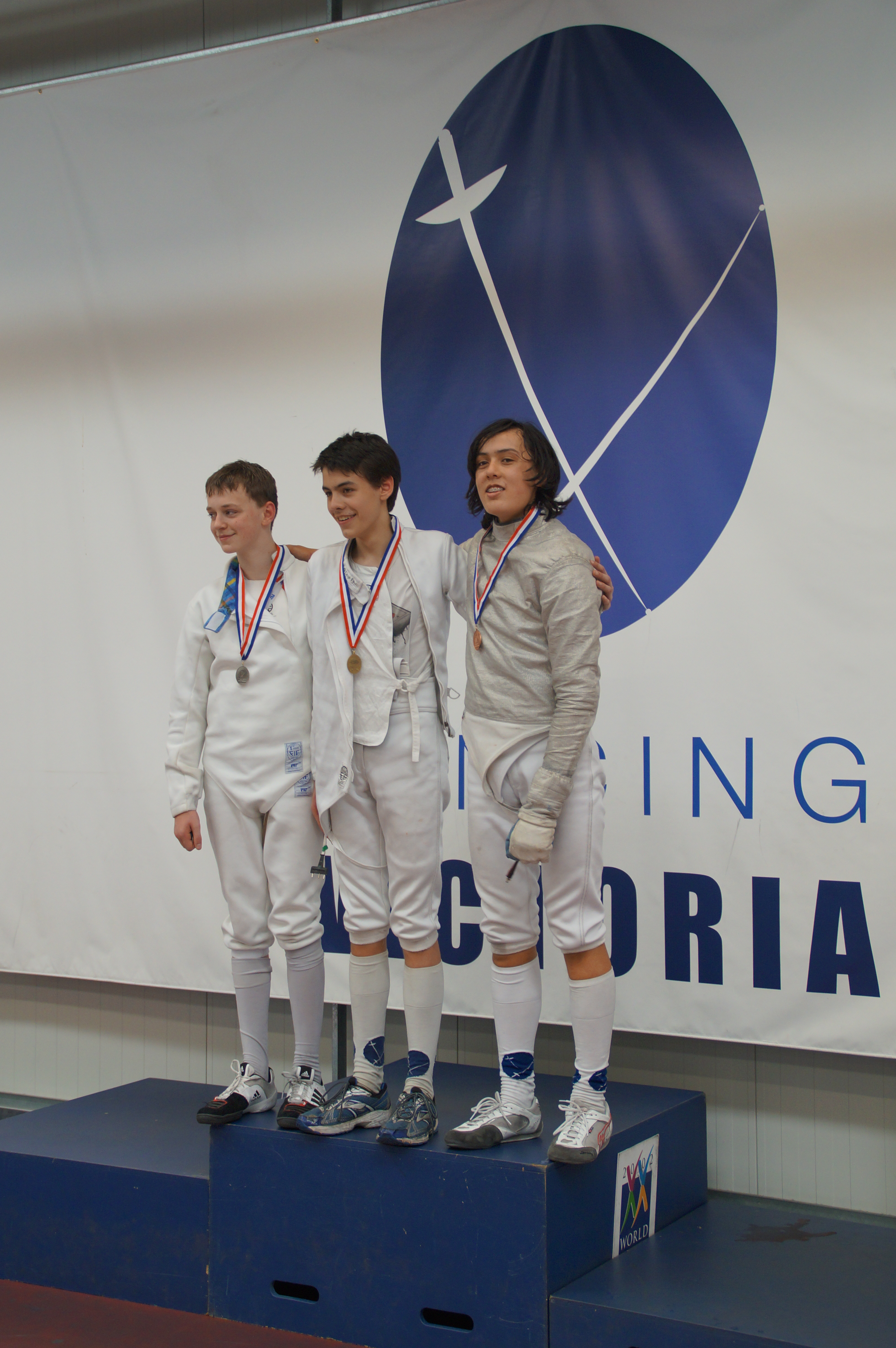 Under 17s Victorian Epee, October 2015
