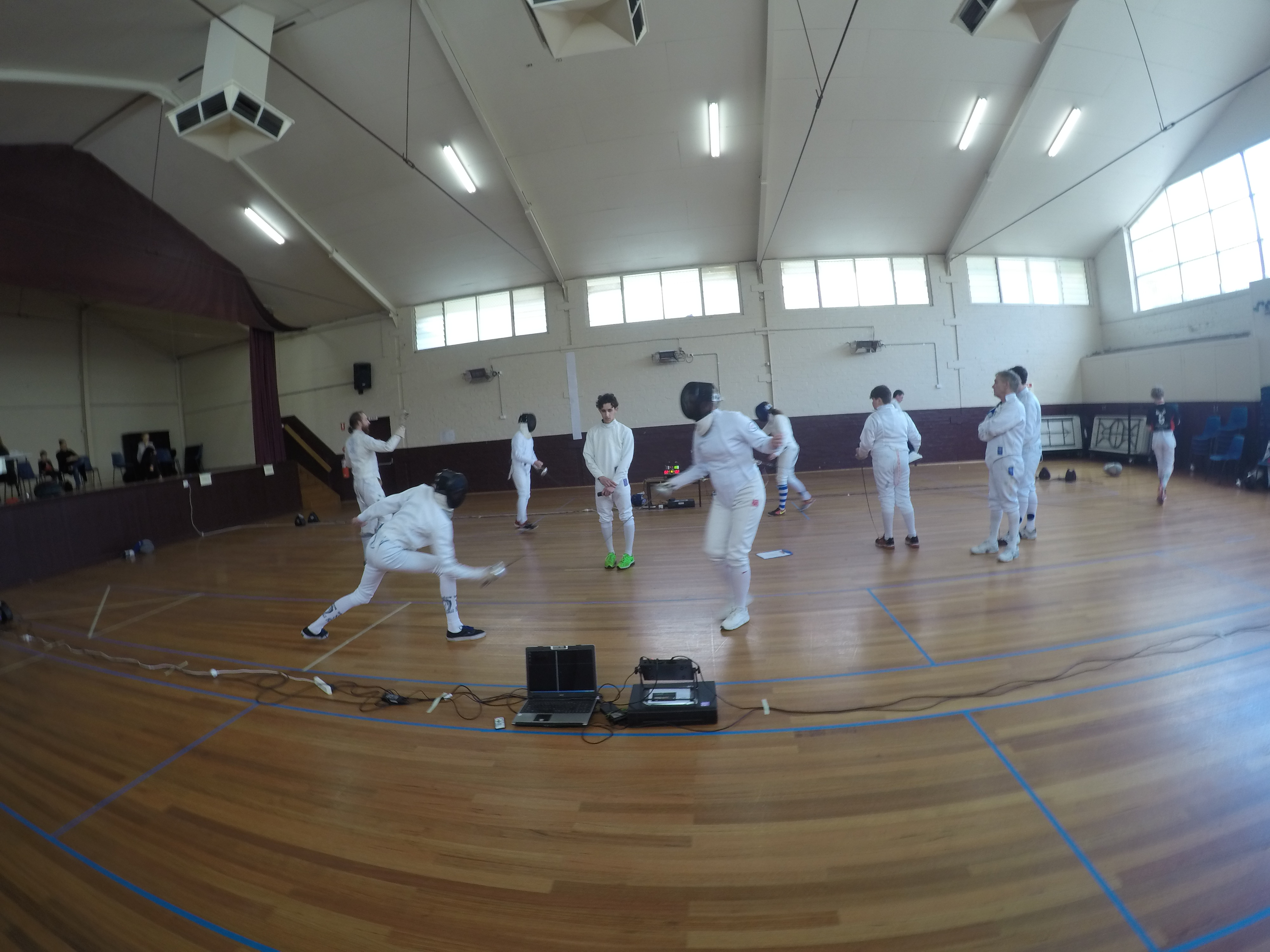 Whitehorse Chevaliers Inter Club Sabre Amp Epee Competition